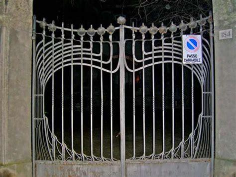 cancello  villa melchiorri ferrara viale cavour