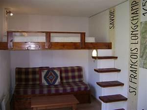 Lit Mezzanine Double : estrade pour chambre ado ~ Premium-room.com Idées de Décoration