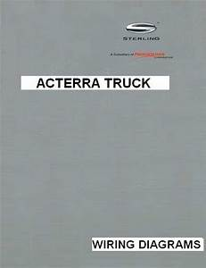 Sterling Acterra  5500  6500  7500  8500  9500  Truck