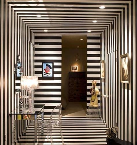 black and white striped wall roundup really striped walls and ceilings 187 curbly diy design community