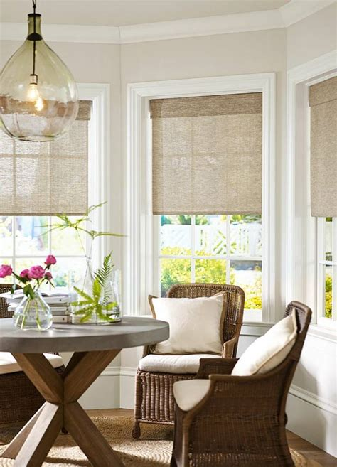 bay window blinds 8 easy steps to match blinds and curtains to your room