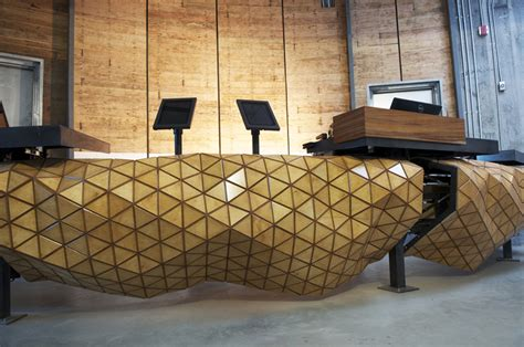 design firm creates  composite wooden material