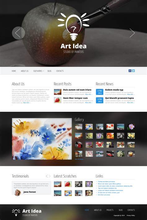stock photo responsive website template