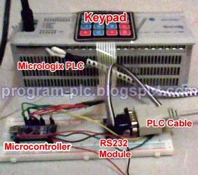 how to communication between allen bradley plc and arduino microcontroller