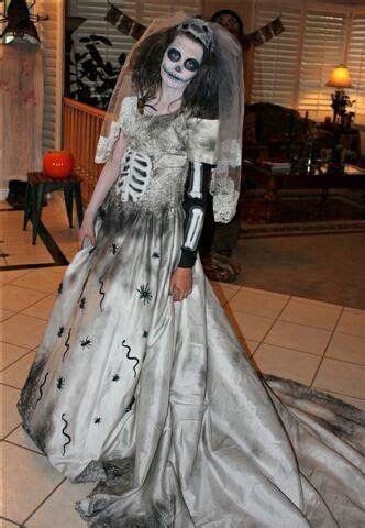 day of the dead bride i made this dress out if an old