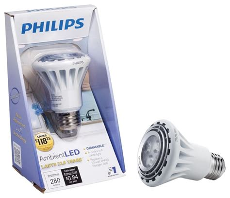 philips ambientled tm dimmable 50w replacement par20
