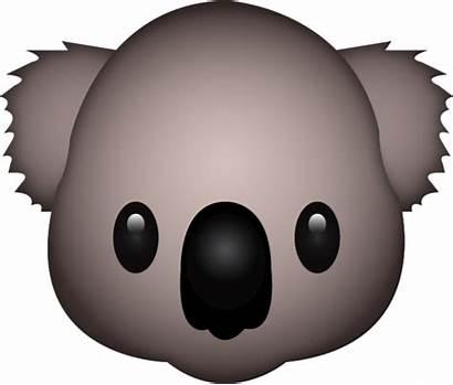 Koala Emoji Icon Emojis Imagens Ontwerp Eigen