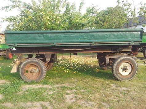 anhänger kipper kaufen anh 228 nger traktoranh 228 nger kipper 5 tonner in d 246 bra