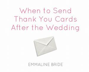 when do you need to send thank you cards wedding With wedding thank you cards when to send out