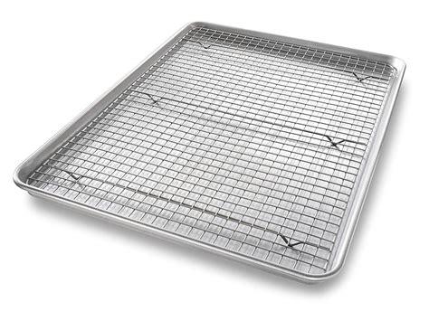 rack baking pan cooling sheet extra nonstick bakeable