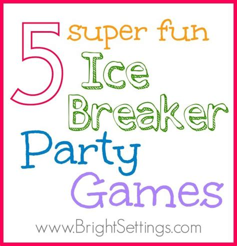 adult ice breaker christmas 5 breaker the bright ideas wedding