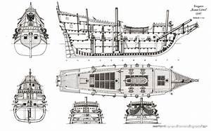 DIY Model Ship Blueprints PDF Download plate shelf design