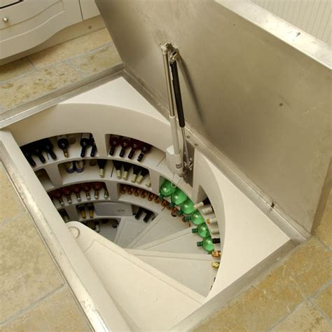 wine cellar in floor of kitchen you won t believe what s underneath the floor of this 2126