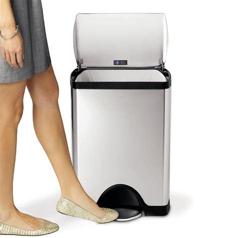 poubelle cuisine 50 litres pedale avis sur la poubelle à pédale 30l simplehuman en inox