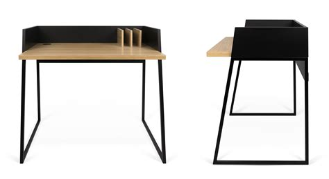 bureau ups bureau working noir chêne pop up home