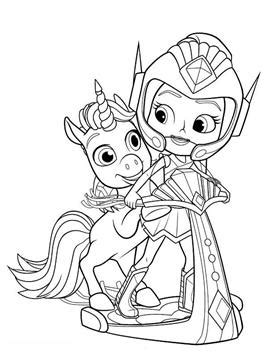 kids  funcom  coloring pages  rainbow rangers