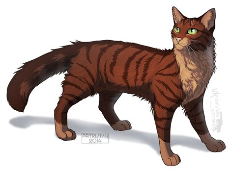 warrior cat warriors cats foxleap by cat patrisiya on deviantart