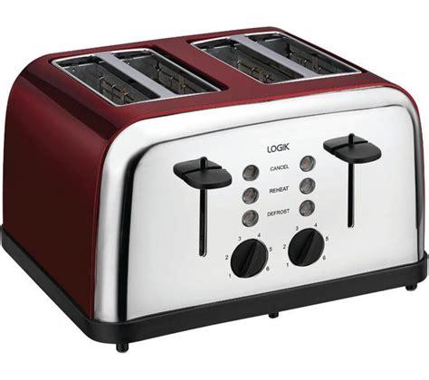 Best Price 4 Slice Toaster by Buy Logik L04tr14 4 Slice Toaster Silver Free
