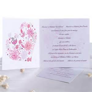 invitation mariage original faire part mariage oiseaux joyeuxmariage faire part original image 736040 on favim