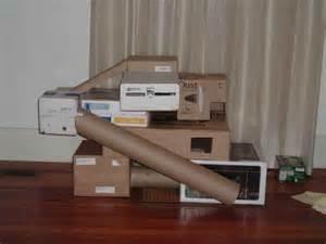 Ferret DIY Cardboard Castle