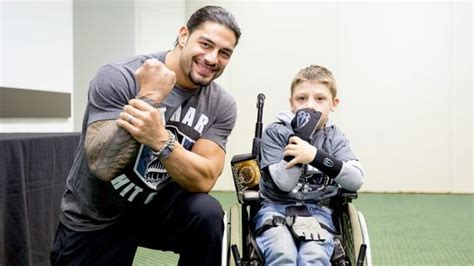 circle  champions roman reigns meets harry  brighton