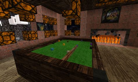 woodwork   build  pool table  minecraft  plans