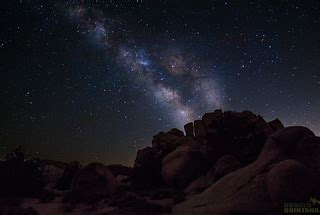 Milky Way Over Joshua Tree National Park California