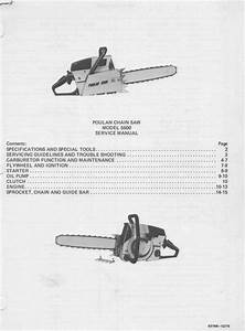 Poulan 5500 Chainsaw Workshop Downloadable Pdf Service And