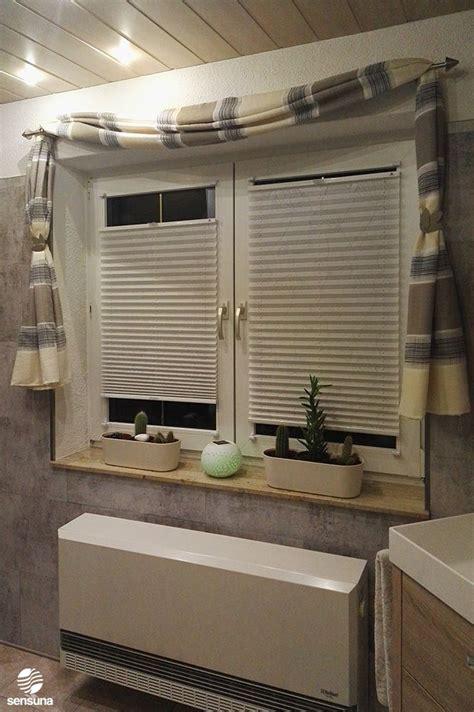 gardinen fürs bad das bad erstrahlt in neuem glanz mit gardinen und plissees sensuna kundenfoto weiss