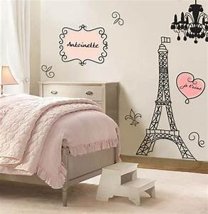 deco chambre fille theme paris With deco chambre fille paris