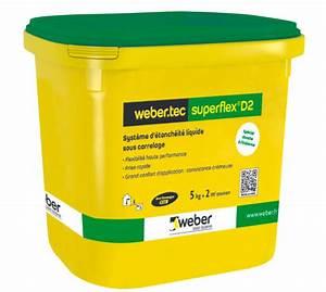 Kit D Étanchéité Sous Carrelage : kit d 39 etanch it liquide weber tec super d2 24 kg ~ Melissatoandfro.com Idées de Décoration