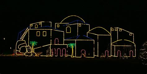 rome of the west photos of the way of lights at our