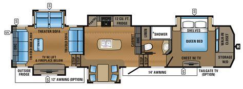 kitchen floor plans with island 2017 point luxury fifth wheel floorplans prices