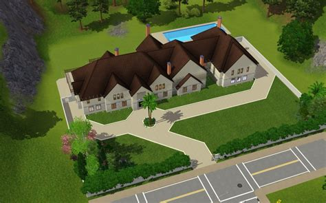 sims  mansions   homes   rich reader homes   rich   real estate blog