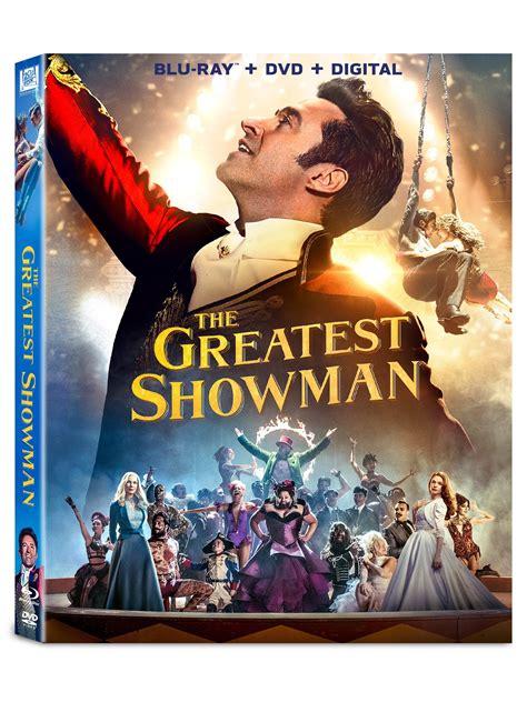 The Greatest Showman Blu Ray
