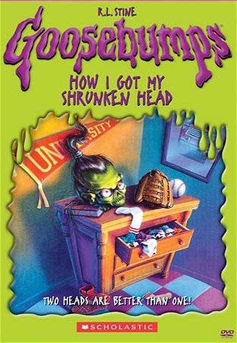 rebecca henderson goosebumps goosebumps how i got my shrunken head 1998 on