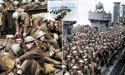 miracle  dunkirk  colour daily mail