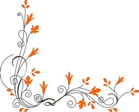 swirl flower clip art clkercom vector clip art