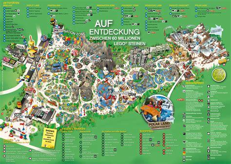 Legoland Günzburg Karte