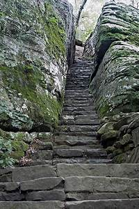 Bell Smith Springs Stone Stairway   Southern Illinois ...