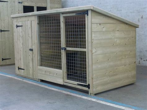 tanalised wooden dog kennel  run cattery      high ebay