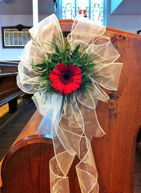 pew chair  pillar designs belper florist derby