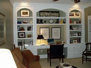 Home office built ins home design pinterest for Office built in