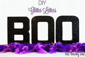 Diy glitter letters mod podge initials dog names and for Glitter cardboard letters