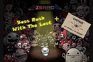 The Lost Boss Rush Room + Godhead Unlock | The Binding of ...