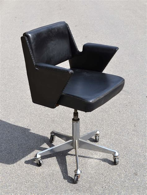 chaise de bureau design fauteuil bureau noir inclinable design moderne