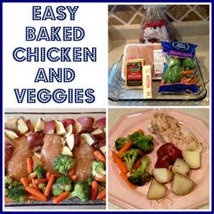 Easy Baked Chicken and Vegetables