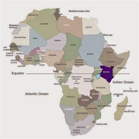 map  africa  equator world map interactive