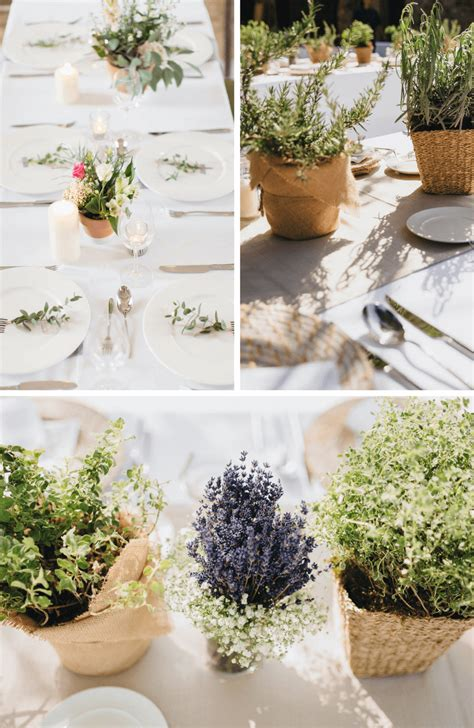 Minimalistische Hochzeitstischdeko Hochzeitskiste