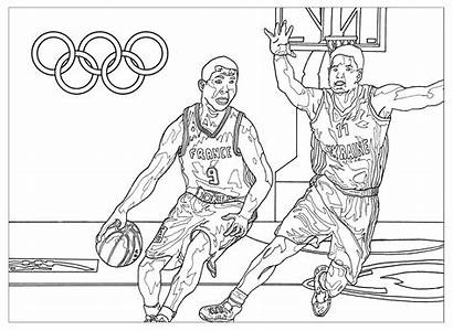 Coloring Games Olympic Pages